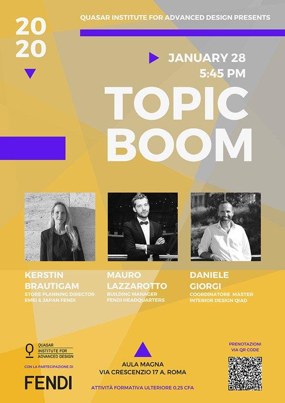Topic Boom Fendi 2020