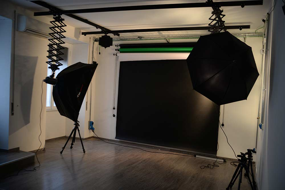 quasar coworking space set fotografico