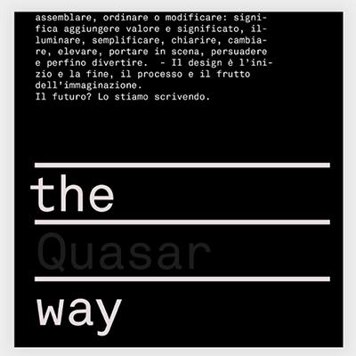 the quasar way